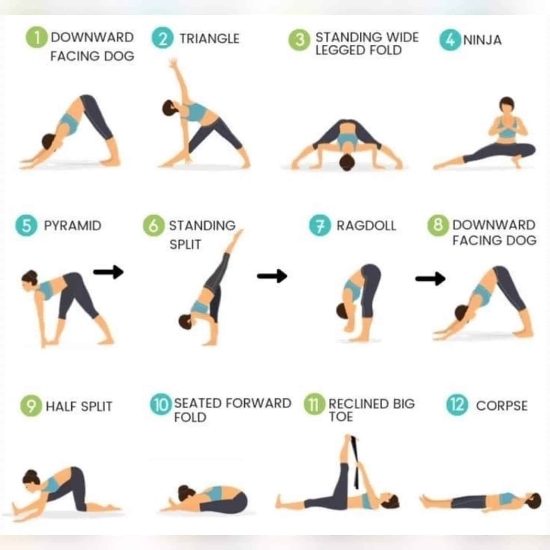 Top 10 exercises or stretches